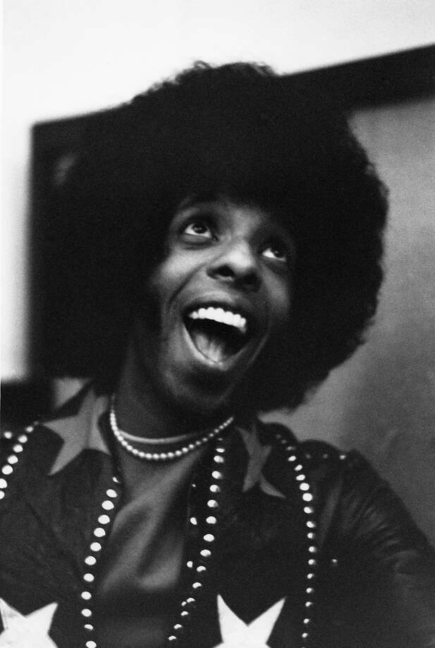 "Musician Sly Stone of the psychedelic soul group ""Sly And The Family Stone"" poses for a portrait in the studio on April 3, 1973 in San Francisco. Photo: Michael Ochs Archives, Getty Images / Michael Ochs Archives"