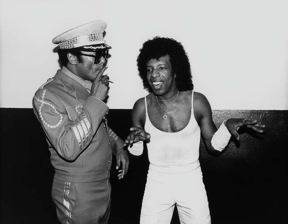 Sly Stone and Bobby Womack. Photo: Ebet Roberts, Getty Images / Redferns