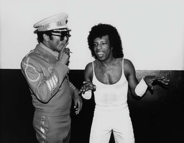 Sly Stone and Bobby Womack.