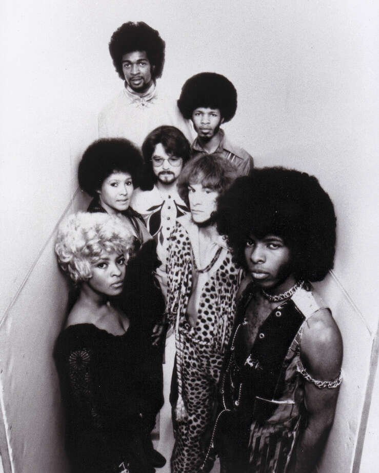 Sly And The Family Stone, 1971. Photo: Getty Images