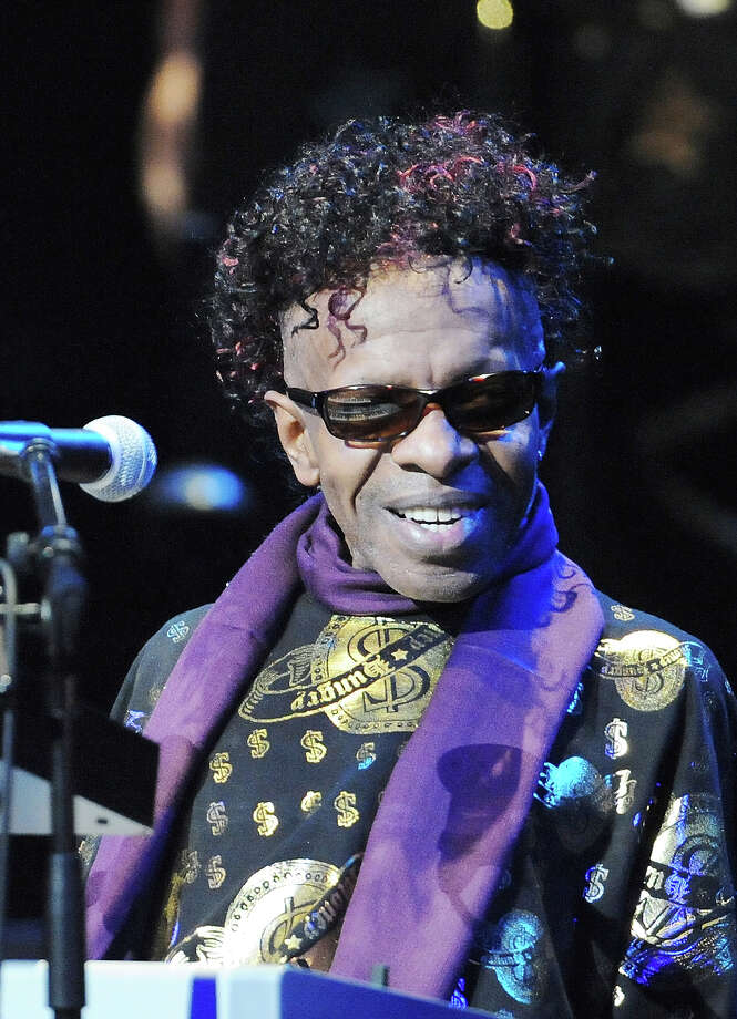 Musician Sly Stone performs during Tokyo Jazz 2008 at Tokyo International Forum on August 31, 2008 in Tokyo. Photo: Jun Sato, Getty Images / 2008 Jun Sato