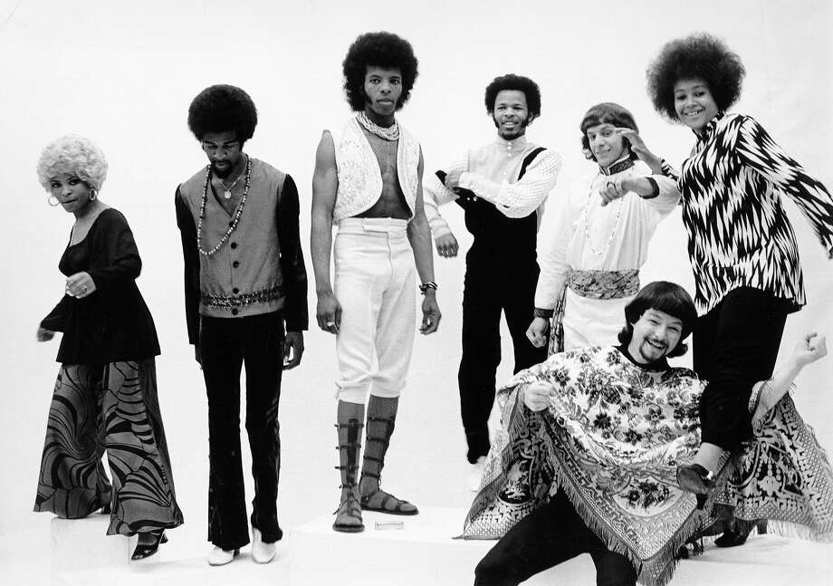 Photo of Sly & Family Stone, circa 1970. Photo: Michael Ochs Archives, Getty Images / Michael Ochs Archives