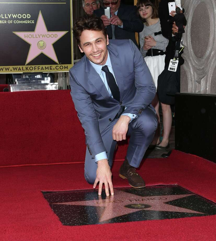 Actor James Franco is honored on The Hollywood Walk Of Fame during the installation ceremony on March 7, 2013 in Hollywood, California. Photo: Frederick M. Brown, Getty Images / 2013 Getty Images