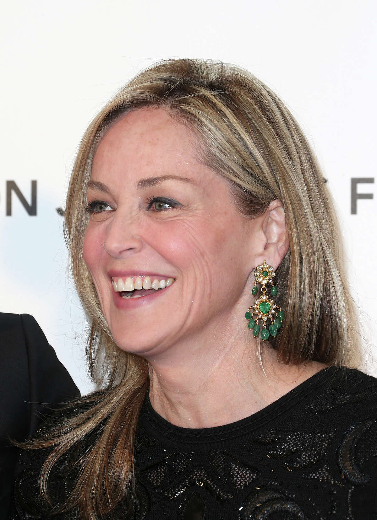 Actress Sharon Stone is 55 on Sunday.