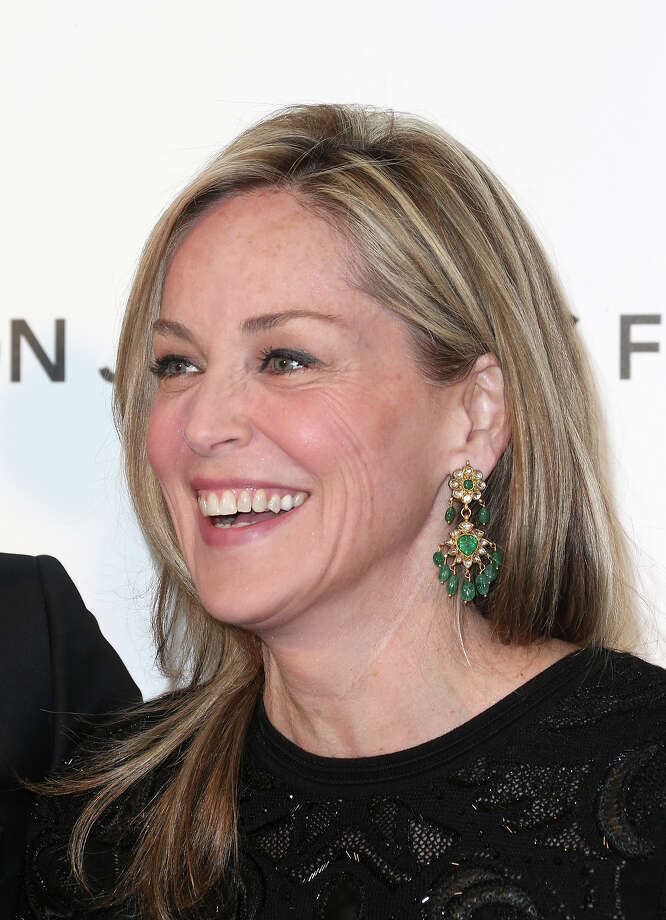 Actress Sharon Stone is 55 on Sunday. Photo: Frederick M. Brown, Getty Images / 2013 Getty Images