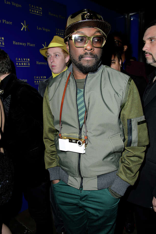 Will.i.am is 38 on Friday. Photo: Dave M. Benett, Getty Images / 2013 Dave M. Benett