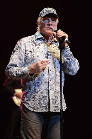 Mike Love of The Beach Boys is 72 on Friday. Photo: Larry Marano, Getty Images / 2013 Larry Marano