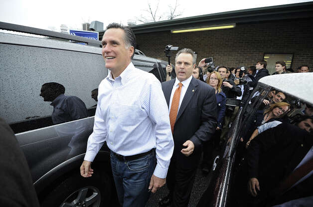 Mitt Romney is 66 on Tuesday. Photo: Charles Ommanney, Getty Images / 2012 Charles Ommanney