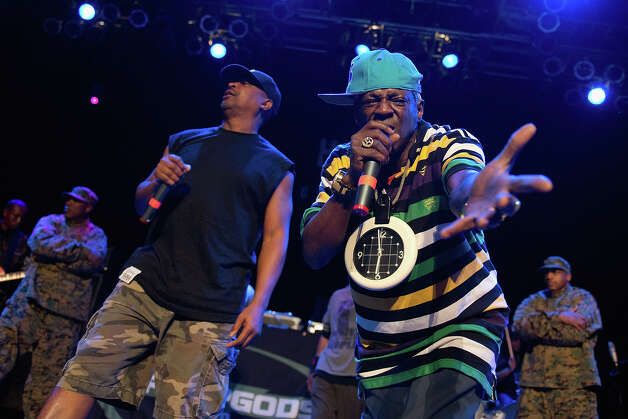 Flavor Flav of Public Enemy is 54 on Saturday. Photo: Daniel Boczarski, Getty Images / 2012 Daniel Boczarski
