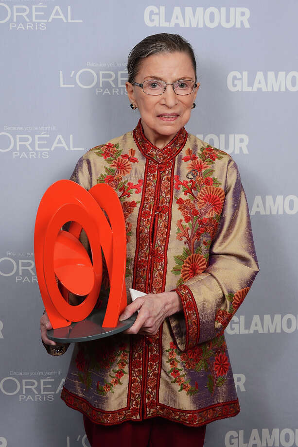 U.S. Supreme Court Justice Ruth Bader Ginsburg is 80 on Friday. Photo: Dimitrios Kambouris, Getty Images / 2012 WireImage