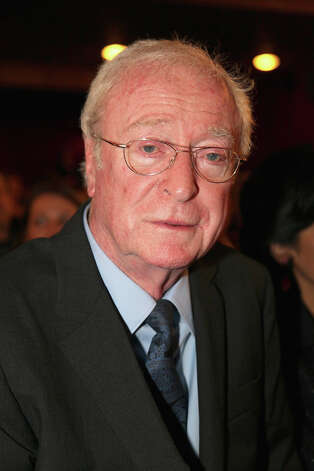 Sir Michael Caine is 80 on Thursday. Photo: Manfred Schmid, Getty Images / 2012 Manfred Schmid