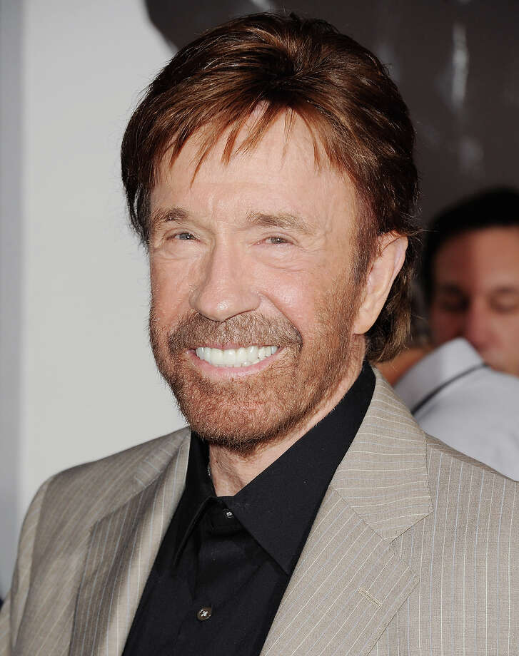 Actor Chuck Norris is 73 on Sunday. Photo: Jon Kopaloff, Getty Images / 2012 Jon Kopaloff
