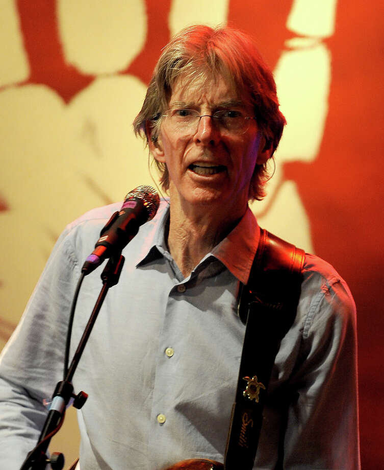 Phil Lesh  of The Grateful Dead is 73 on Friday. Photo: C Flanigan, Getty Images / 2012 C Flanigan