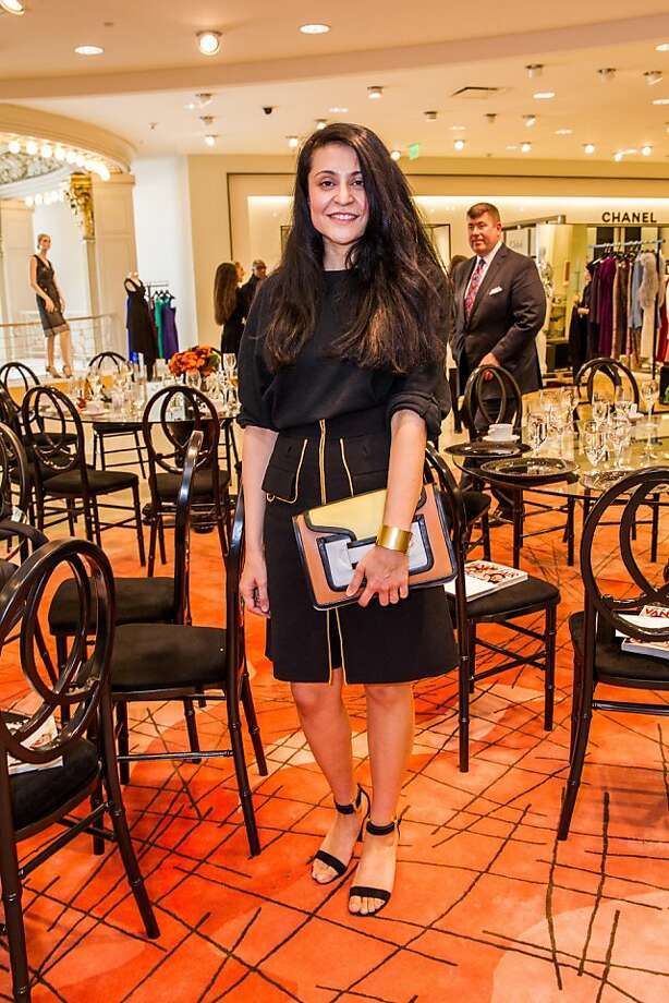 Rati Levesque at Neiman Marcus and Vanity Fair's International Best-Dressed List luncheon in San Francisco on March 07, 2013. Photo: Drew Altizer Photography