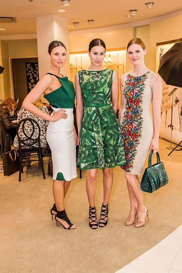 Sanela Inajetovic, Nicole Daryanani and Adair Arnold at Neiman Marcus and Vanity Fair's International Best-Dressed List luncheon on March 07, 2013. The elegant luncheon took place in San Francisco at Neiman Marcus' Couture Salon and hosted some of the Bay Area's most stylish women. Click here for more information about the event.  Photo: Drew Altizer Photography