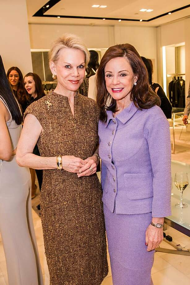 Sandra Farris and Gail DeMartini at Neiman Marcus and Vanity Fair's International Best-Dressed List luncheon in San Francisco on March 07, 2013. Photo: Drew Altizer Photography