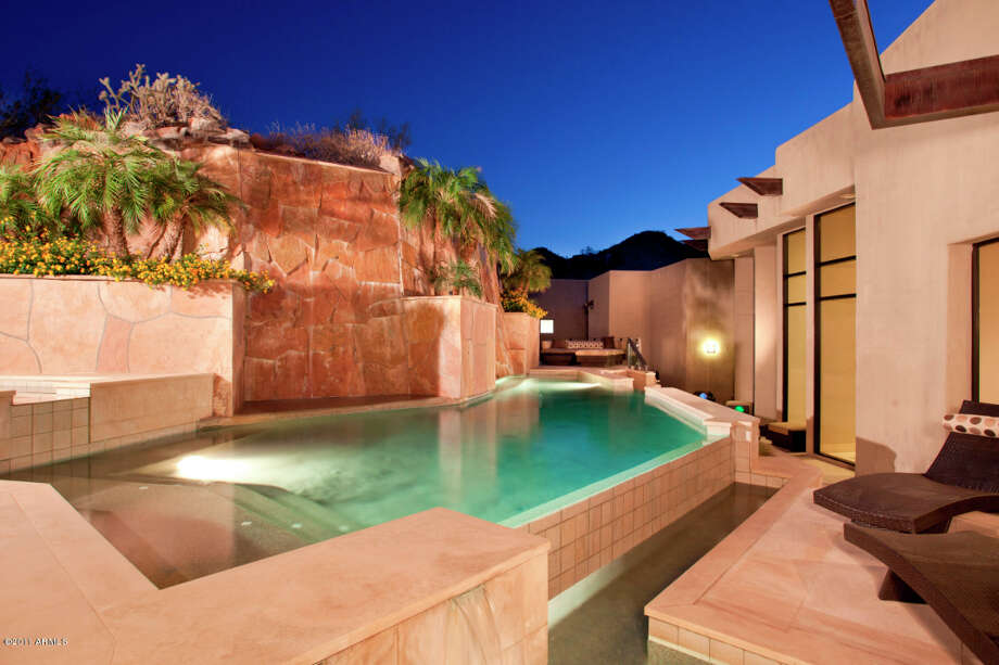Pool for cooling off during hot AZ days