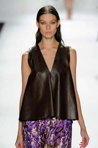 A model walks the runway at the J.Mendel Spring Summer 2013 fashion show during New York Fashion Week on September 12, 2012 in New York, United States. Photo: Karl Prouse/Catwalking, Getty Images / 2012 Catwalking