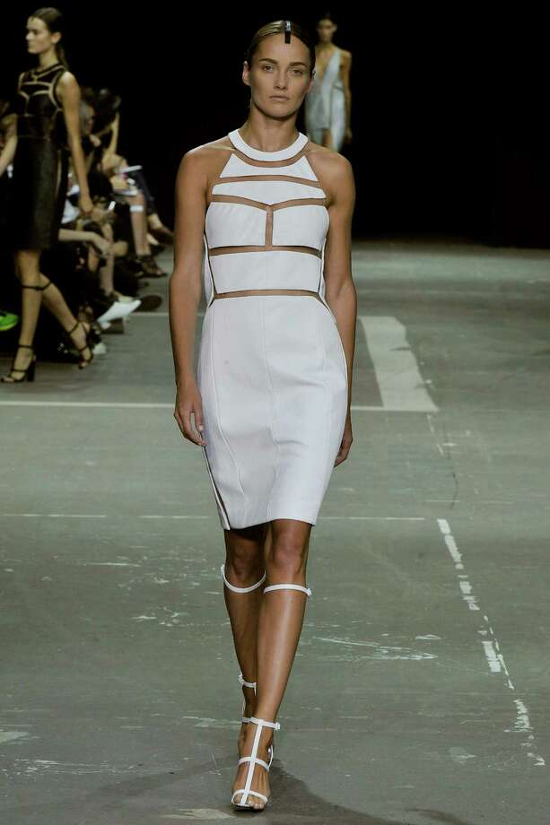 A model walks the runway at the Alexander Wang Spring Summer 2013 fashion show during New York Fashion Week on September 8, 2012 in New York, United States. Photo: Chris Moore/Catwalking, Getty Images / 2012 Catwalking