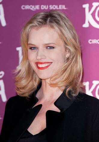 Eva Herzigova, the model who helped make the Wonderbra a '90s sensation, turns the big 4-0 on March 10. We look back at some major models, then and now. Here's Eva Herzigova in January, 2013. Photo: John Phillips, Getty Images / 2013 John Phillips