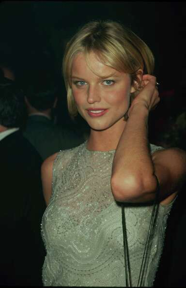 The Czech-born model Eva Herzigova in 1995.