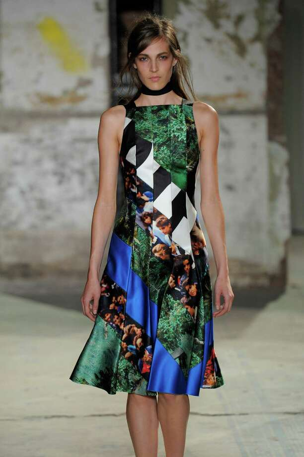A model walks the runway at the Proenza Schouler Spring Summer 2013 fashion show during New York Fashion Week on September 12, 2012 in New York, United States. Photo: Karl Prouse/Catwalking, Getty Images / 2012 Catwalking