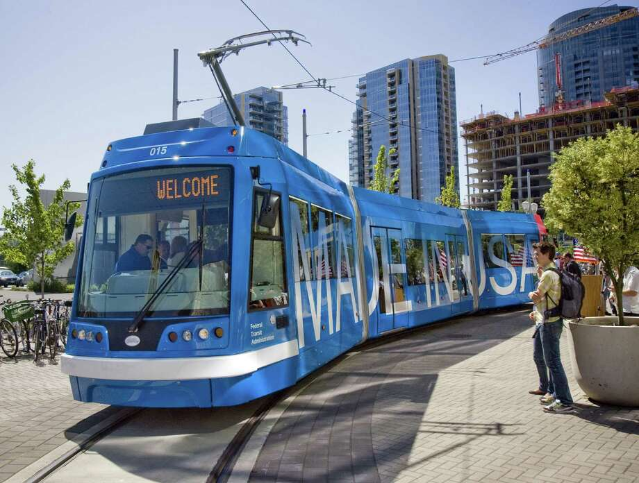 To get a streetcar system  such as this, San Antonians would have to kick in some funds, whether in  higher taxes or increased VIA fees. Photo: File Photo, Associated Press