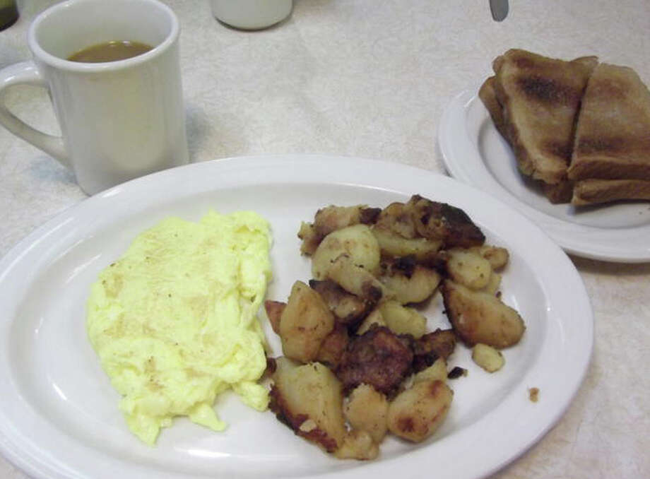 A classic breakfast is served at Johnny's Diner in Fairfield. Photo: Patti Woods / Fairfield Citizen contributed