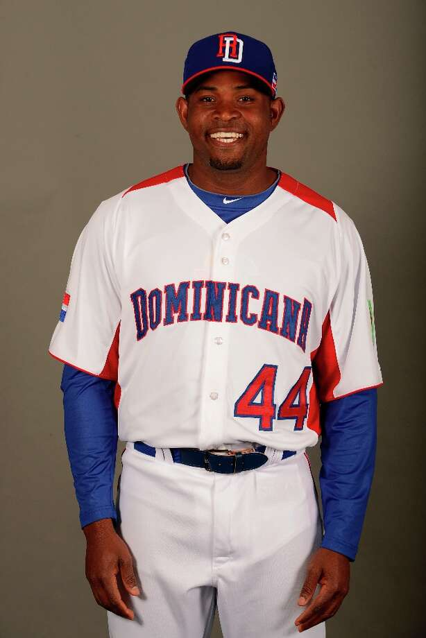 Santiago Casilla of Team Dominican Republic poses for a headshot for the 2013 World Baseball Classic on March 4, 2013 at George M. Steinbrenner Field in Tampa, Florida. Photo: Preston Mack, MLB Photos Via Getty Images / 2013 World Baseball Classic, Inc.