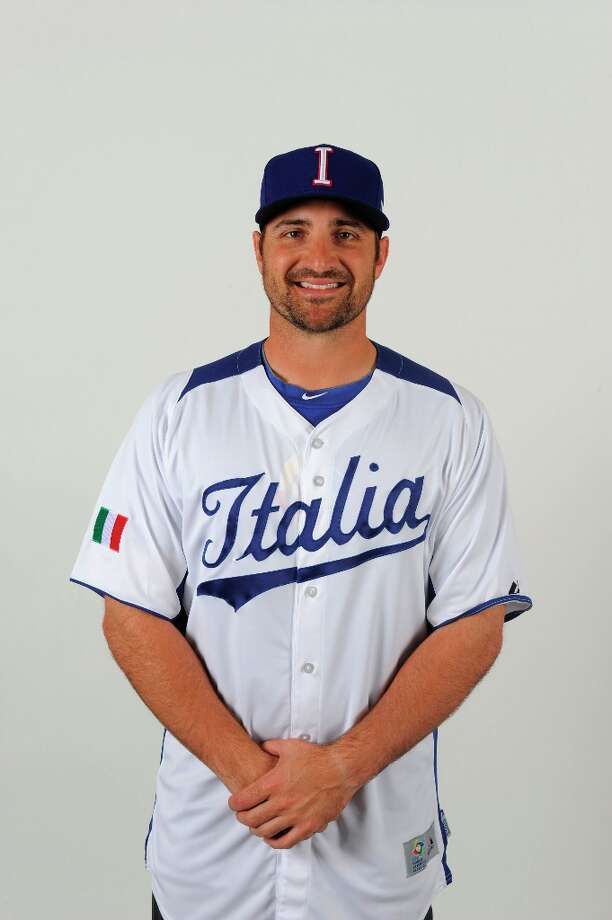 Tyler LaTorre of Team Italy poses for a photo for the 2013 World Baseball Classic on Monday, March 4, 2013 at Papago Baseball Facility in Phoenix, Arizona. Photo: Kevin Sullivan, MLB Photos Via Getty Images / 2013 World Baseball Classic, Inc.