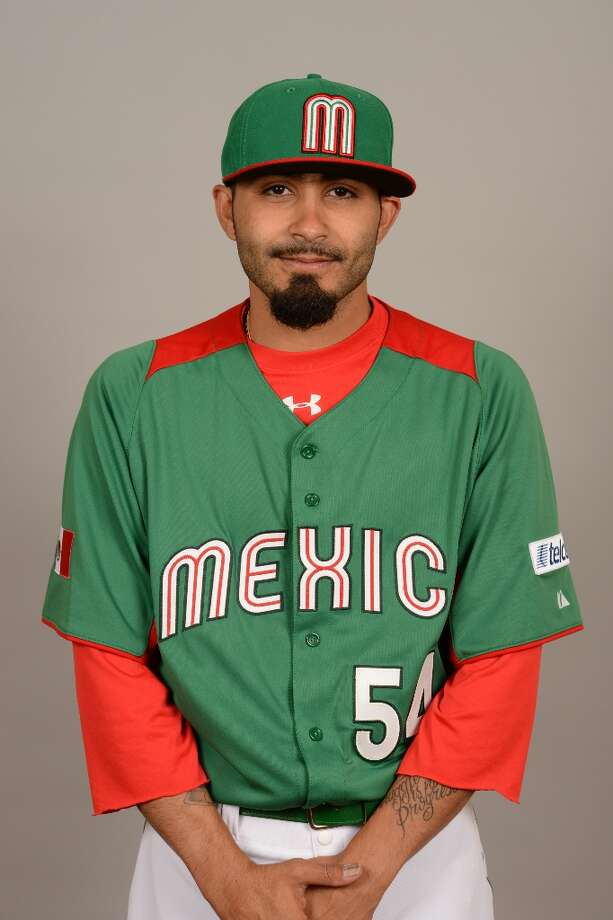 Sergio Romo of Team Mexico poses for a headshot for the 2013 World Baseball Classic on Monday, March 4, 2013 at Camelback Ranch in Glendale, Arizona. Photo: Robert Binder, MLB Photos Via Getty Images / 2013 World Baseball Classic, Inc.