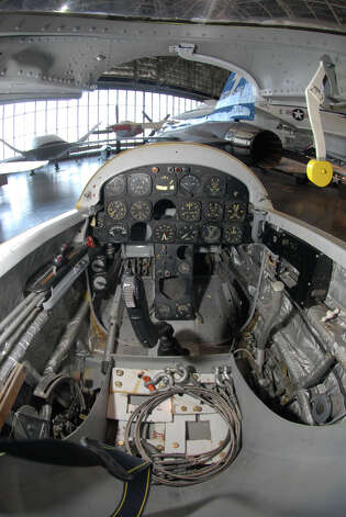 The cockpit of a Northrop X-4 Bantam. Photo: U.S. Air Force