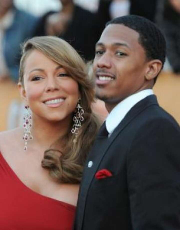 Mariah Carey and Nick CannonKid's name: Moroccan and Monroe