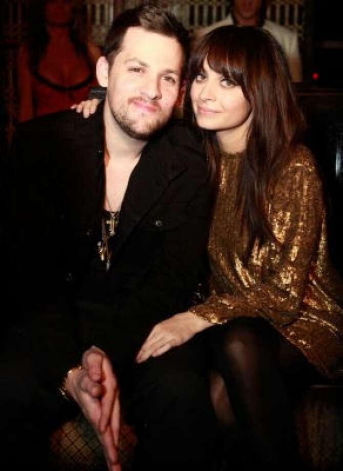 Joel Madden and Nicole Richie:Kids' names: Harlow Winter Kate and Sparrow James Midnight
