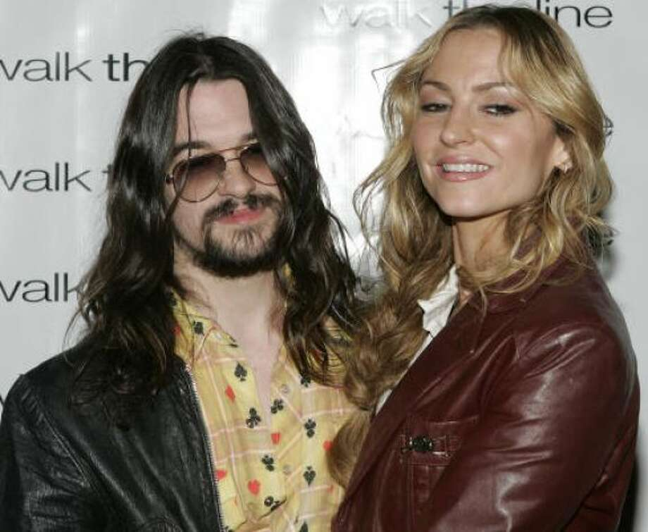 Drea de Matteo and Shooter Jennings:Kid's name: Alabama Gypsy Rose and Waylon Albert Blackjack