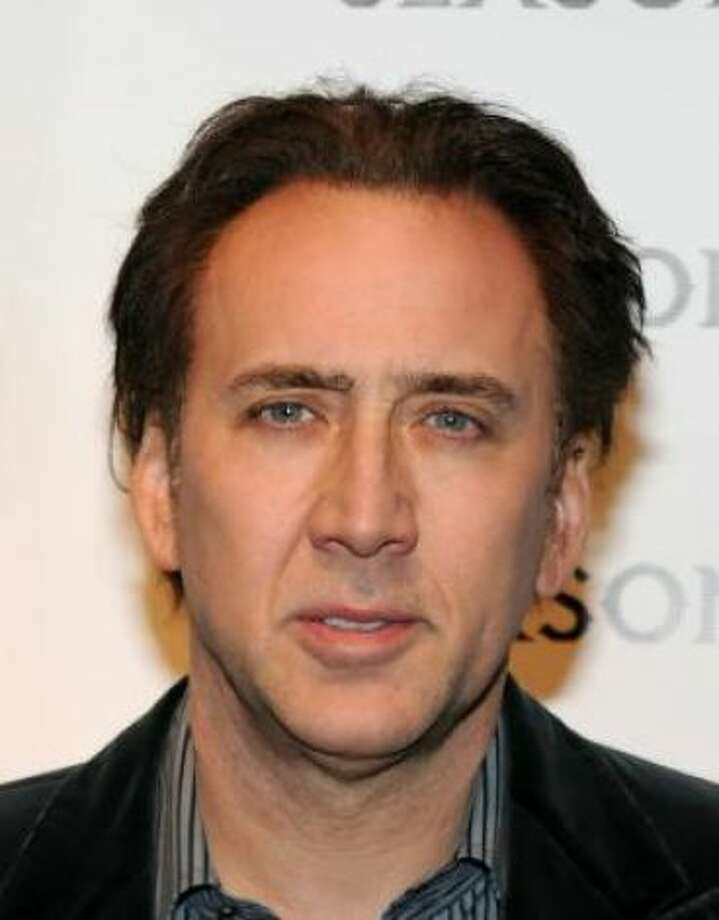 Nicolas Cage (with Alice Kim)Kid's name: Kal-El