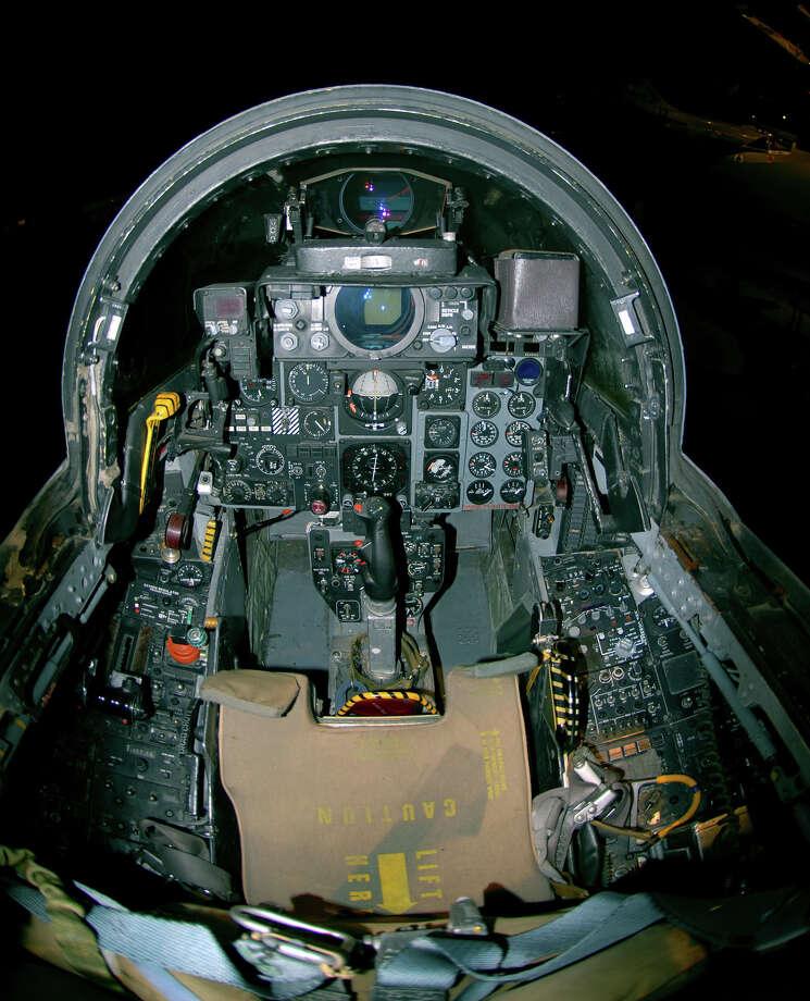 McDonnell Douglas F-4G Wild Weasel cockpit . Photo: U.S. Air Force