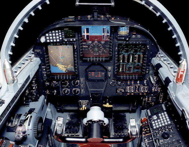 The Lockheed U-2S's glass cockpit uses modern displays and electronics. Photo: U.S. Air Force, Lockheed Martin Aeronautics Co.