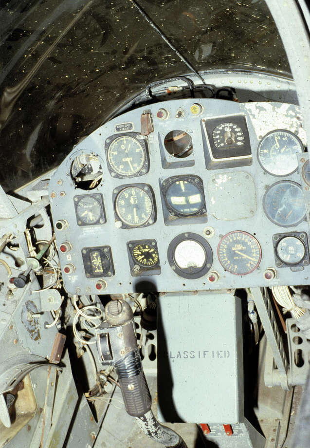 Ryan X-13 Vertijet cockpit. Photo: U.S. Air Force