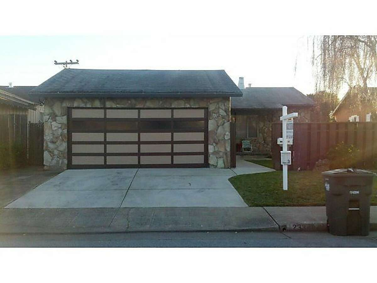 The home at 2334 Clipper Street in San Mateo that received dozens of offers and sold for far above the asking price.