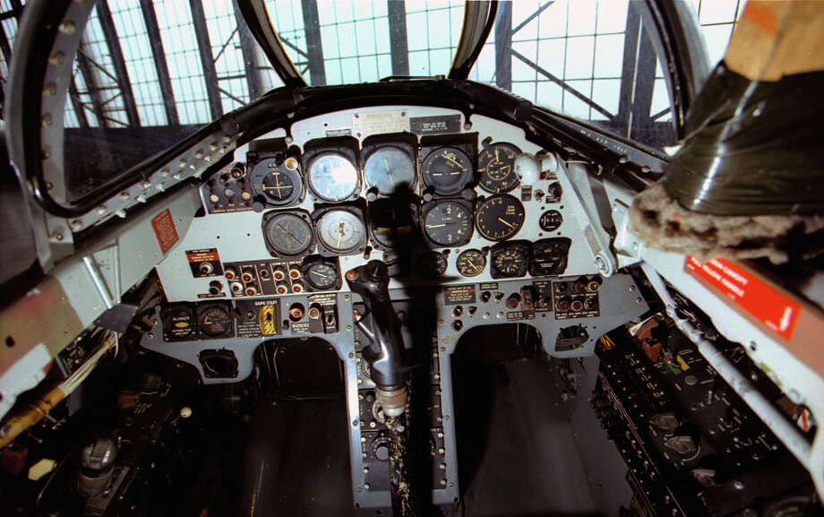 Lockheed T-33A front cockpit . Photo: U.S. Air Force
