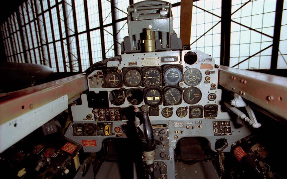 Lockheed T-33A rear cockpit . Photo: U.S. Air Force