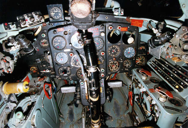 Mikoyan-Gurevich MiG-15 cockpit. Photo: U.S. Air Force