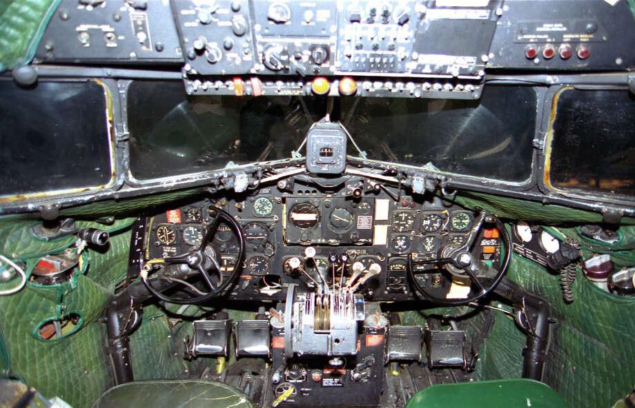 Douglas C-47D cockpit. Photo: U.S. Air Force
