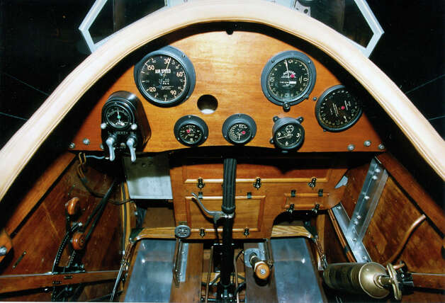 Packard LePere LUSAC cockpit. Photo: U.S. Air Force