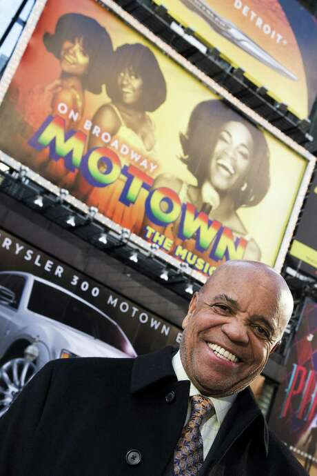 "Motown Records founder Berry Gordy is co-producer of a new Broadway show, ""Motown: The Musical."" Photo: Associated Press"