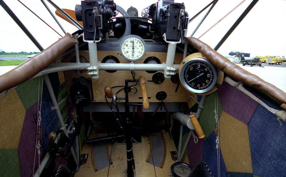 .Fokker D. VII cockpit. Photo: U.S. Air Force