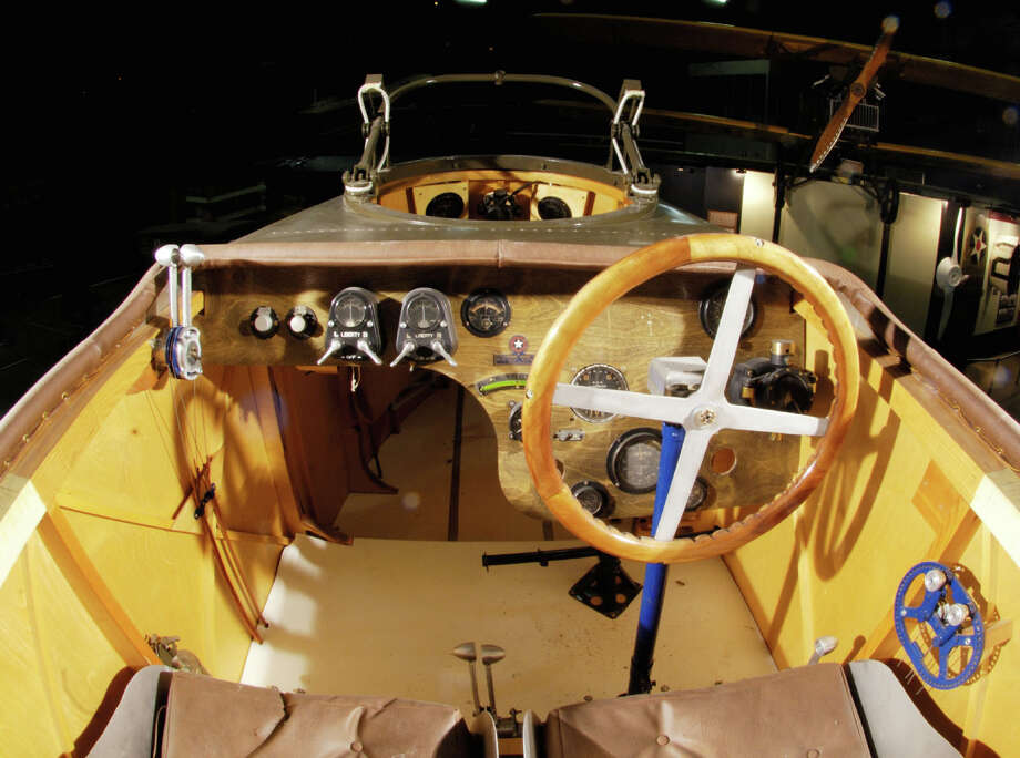 Martin MB-2 cockpit . Photo: U.S. Air Force