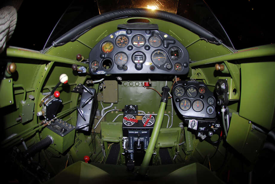 Northrop A-17A cockpit. Photo: U.S. Air Force