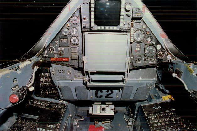 Lockheed SR-71A Blackbird cockpit. Photo: U.S. Air Force